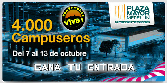 Gana Entrada a Campus Party 2013 Medellin